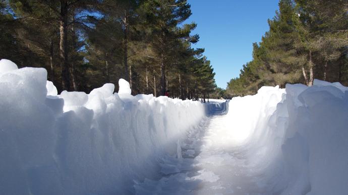Espesor de nieve