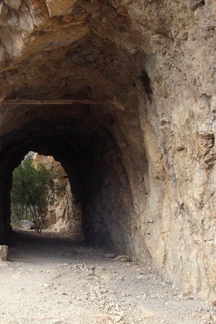 Final de la ruta - último túnel