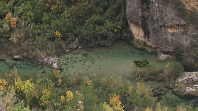 Poza del río Júcar