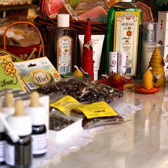 Productos elaborados a partir de la miel