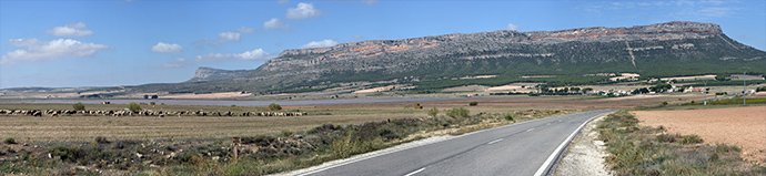 laguna, san benito, carretera, cerro mugrón, panorámica